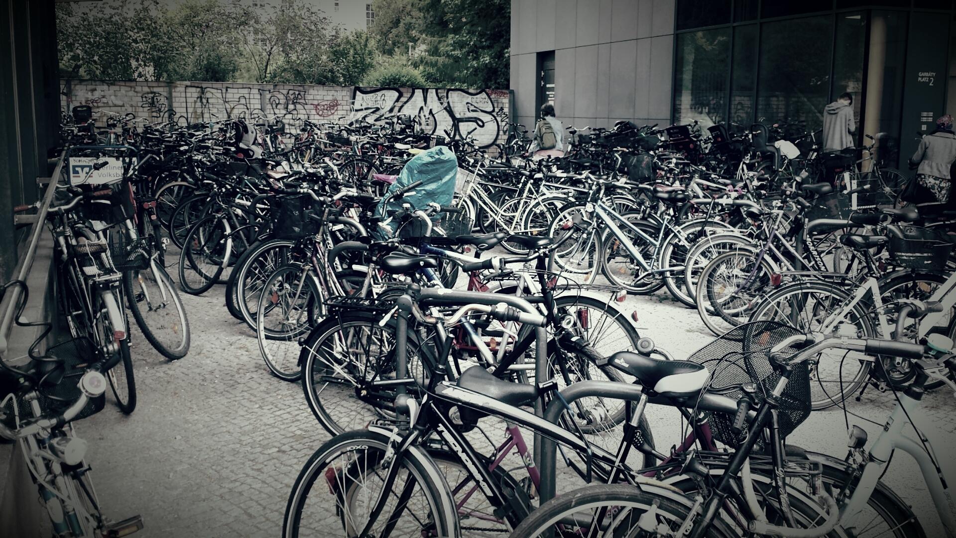 FahrradParkplatz-Galerie