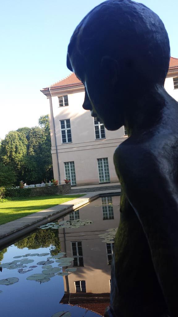 Park Schönhausen -Statue