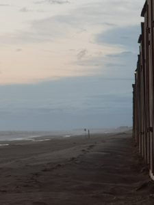 der Sturm kommt auf - Wetter am Strand ganz nah - Julianadorp aan Zee