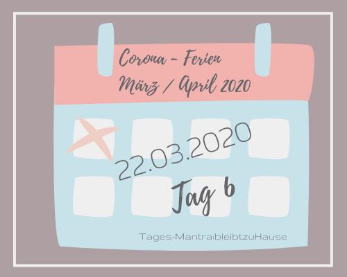 Liebes Corona-Ferientagebuch – Tag 6,