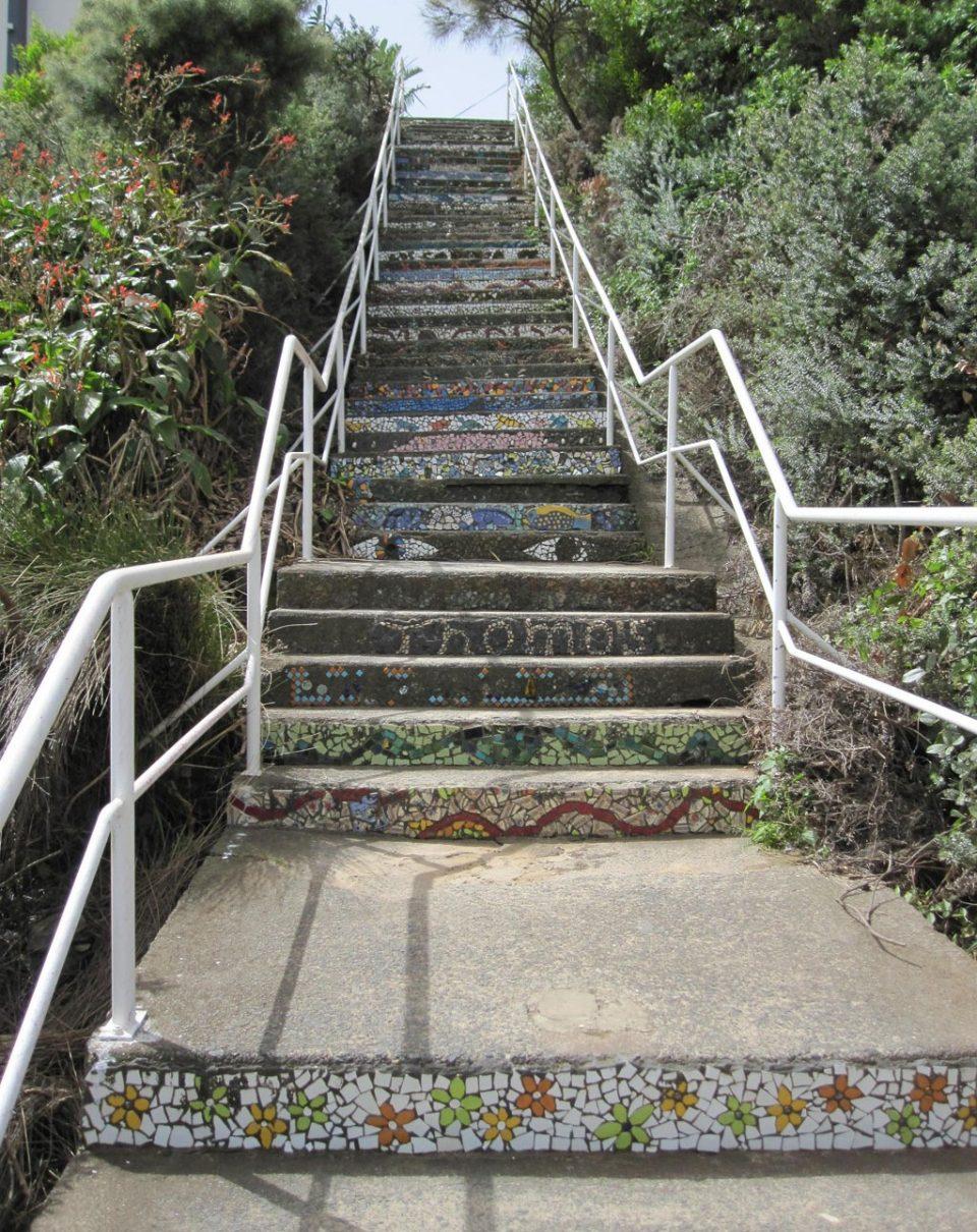 Mosaik Treppe - Sydney - ohne Filter, #nofilter